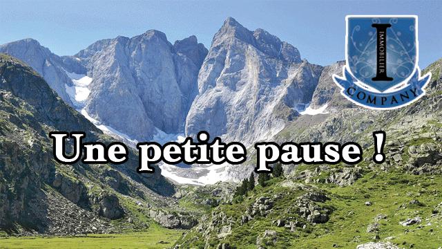 Une transition dans les Pyrenees.