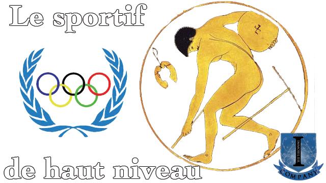 Le sportif de haut niveau